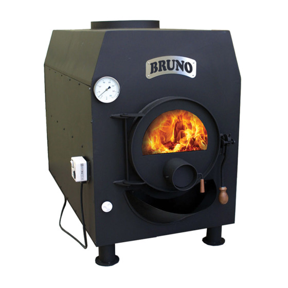Warmluftofen BRUNO pyro TURBO V - 25 kW
